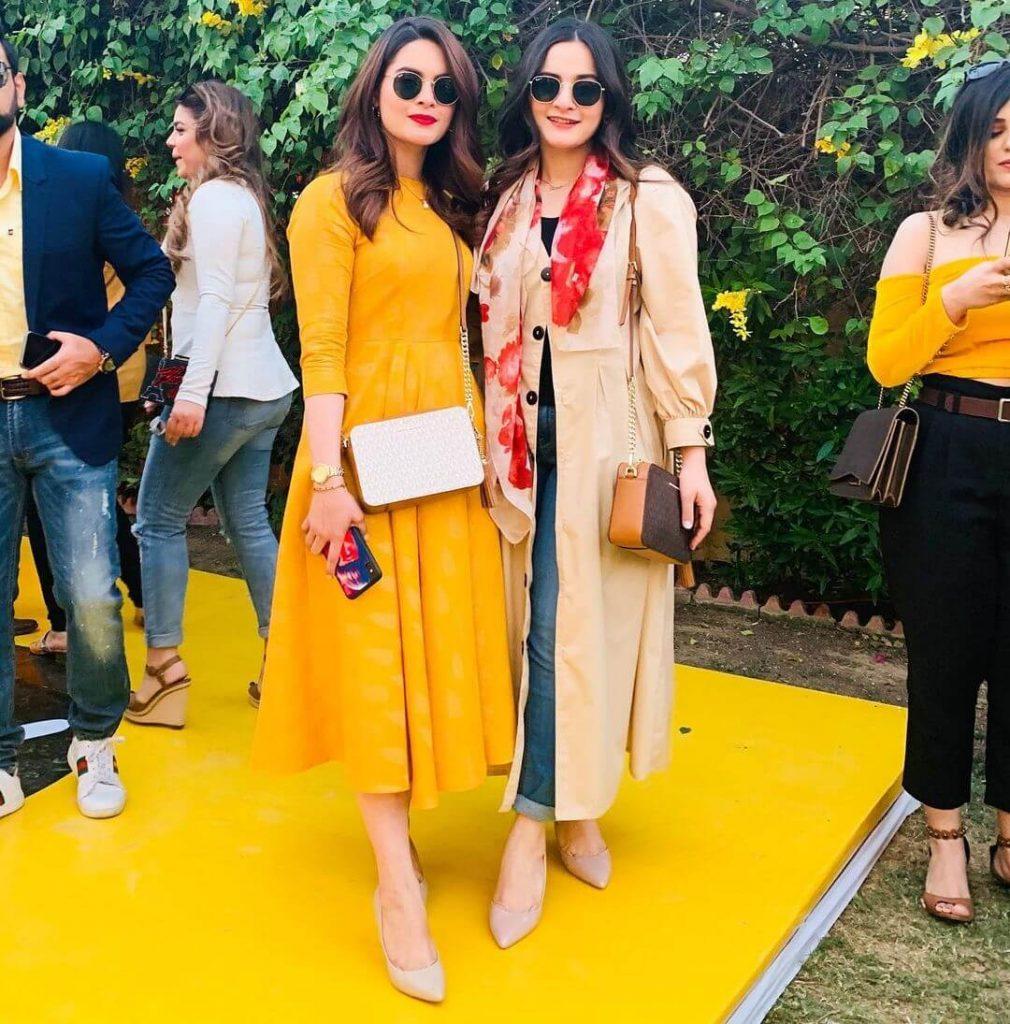 aiman khan and minal khan pakistani celebrities side business