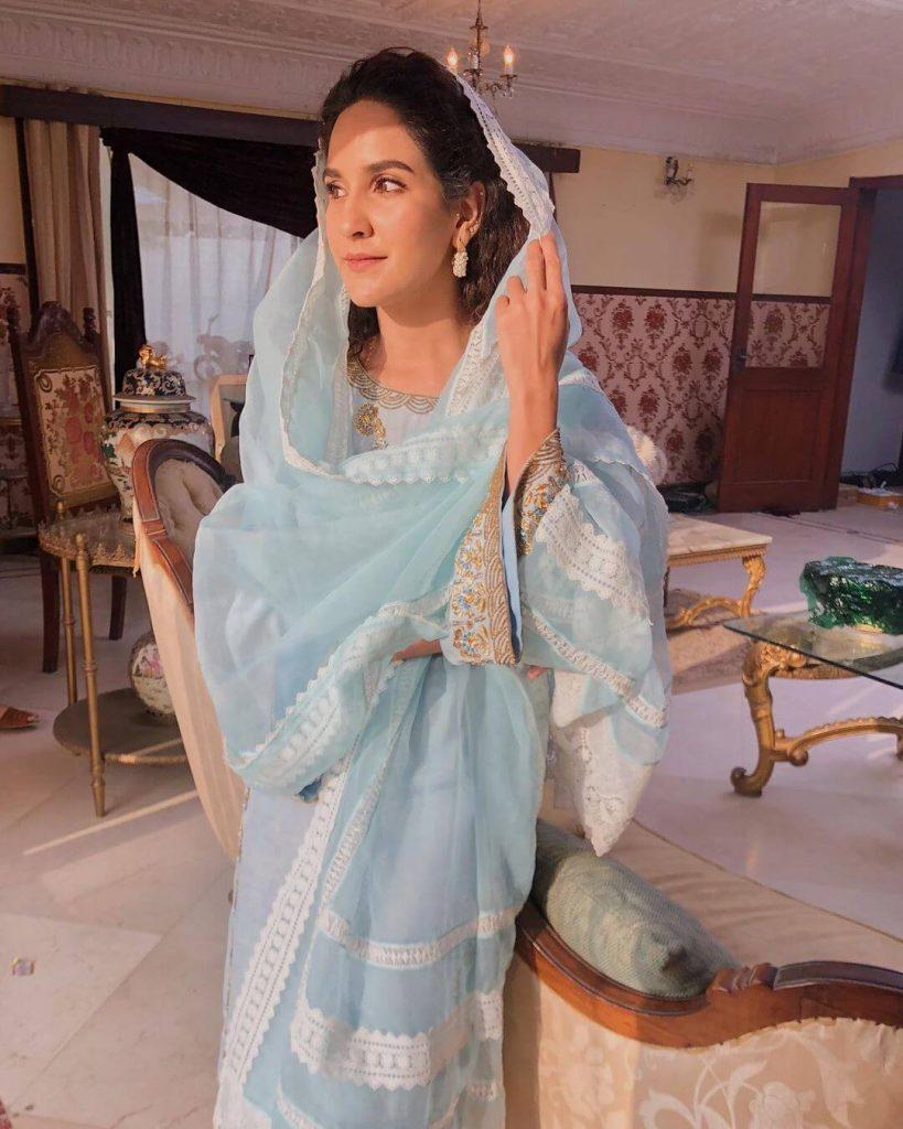 Raqs e Bismil Cast Anoushy Abbasi
