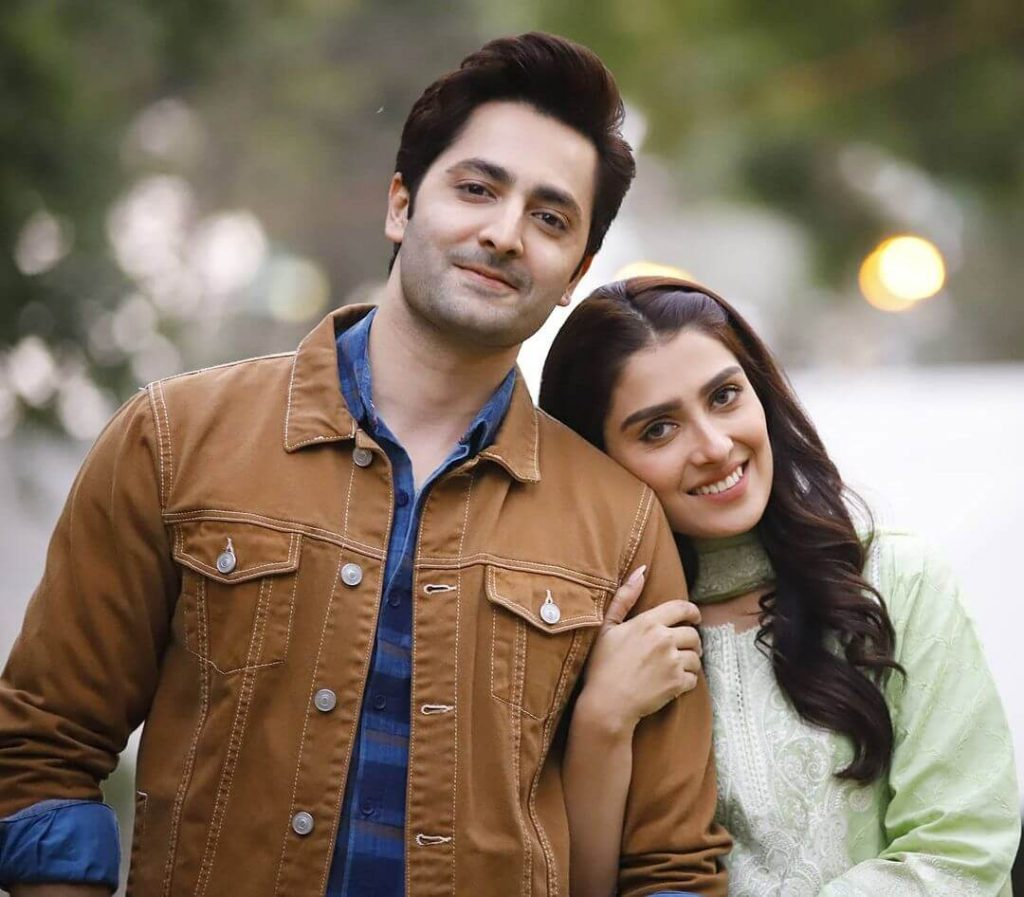 Ayeza Khan and Danish Taimoor Love Story