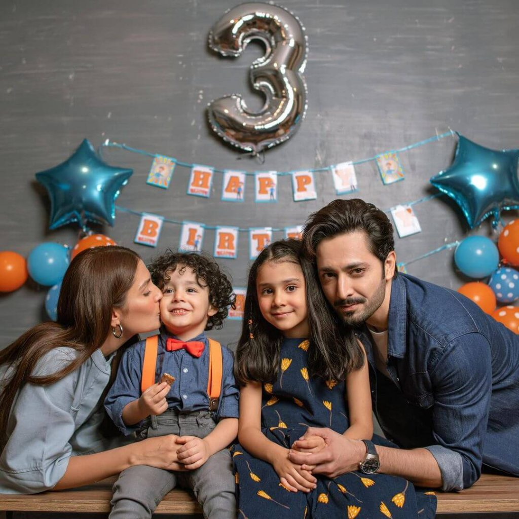 Danish Taimoor Family