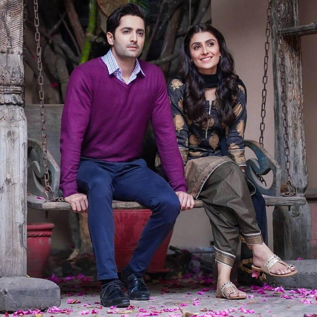 Ayeza Khan and Danish Taimoor Love Story