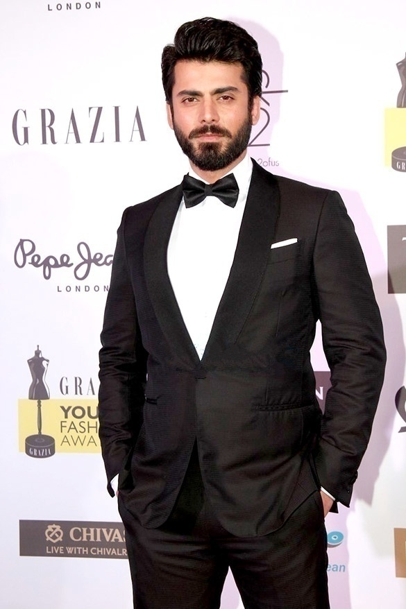 Bollywood Cast - Talented Pakistani Actors in India 112 Fawad khan at grazia young faishon awards