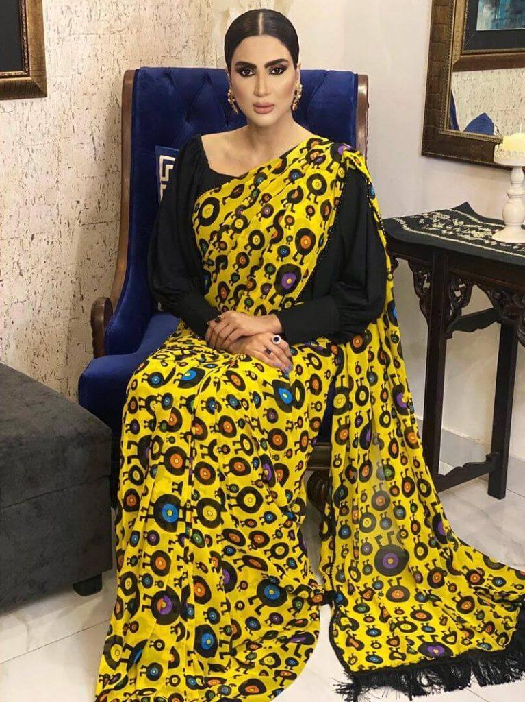 Fiza Ali in Saree