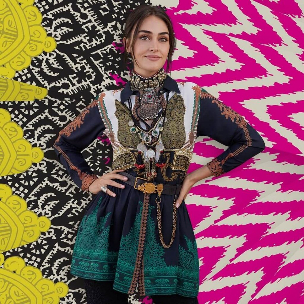 Khaadi X Esra new winter collection