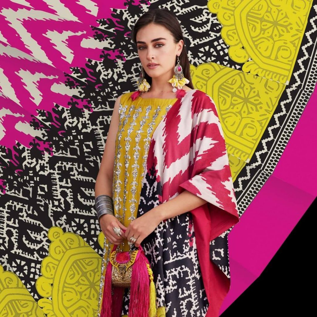 Khaadi X Esra new winter collection