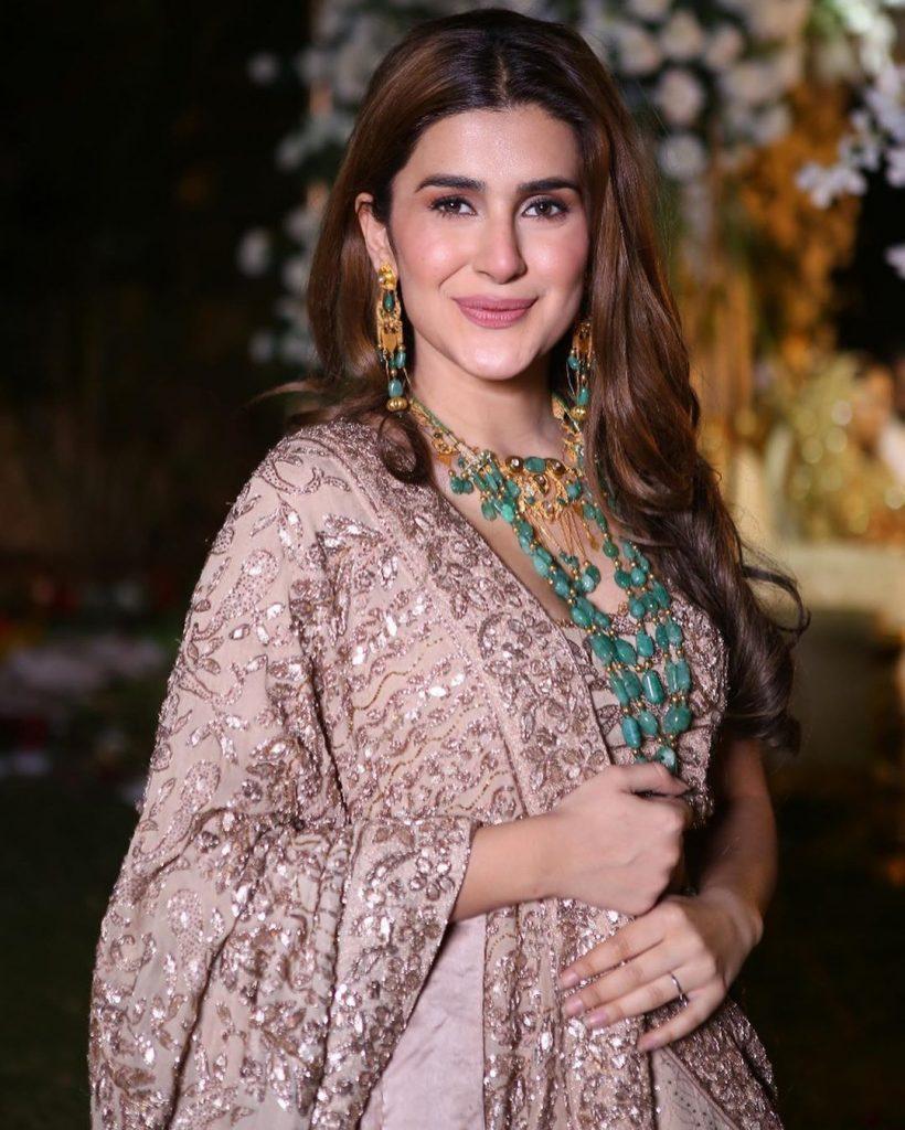 Kubra Khan Wearing Saree
