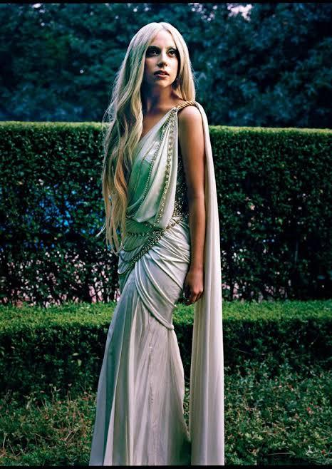 Lady Gaga in Saree