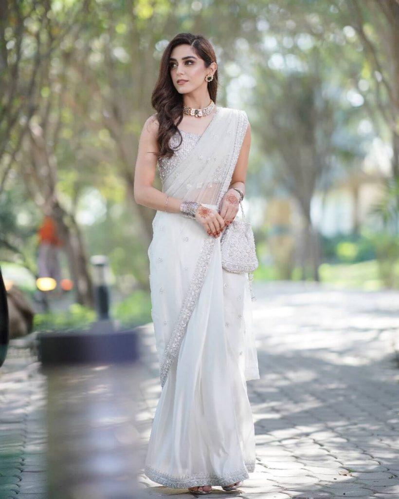 Maya Ali in Saree
