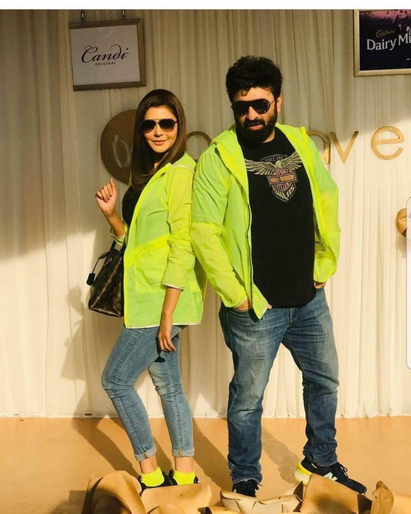 Nida and yasir pakistani celebrities side business
