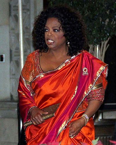 Oprah Winfrey Saree Dress