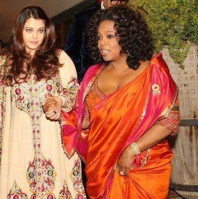 Oprah Winfrey Saree