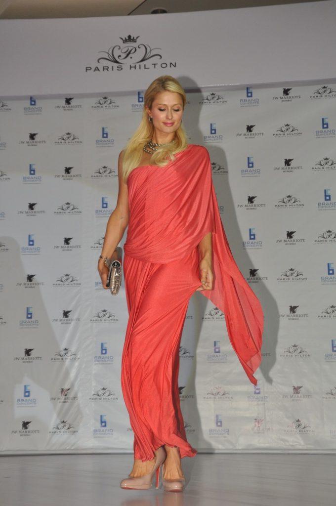 Paris Hilton Saree Style
