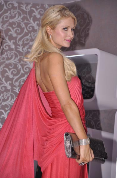 Paris Hilton Saree