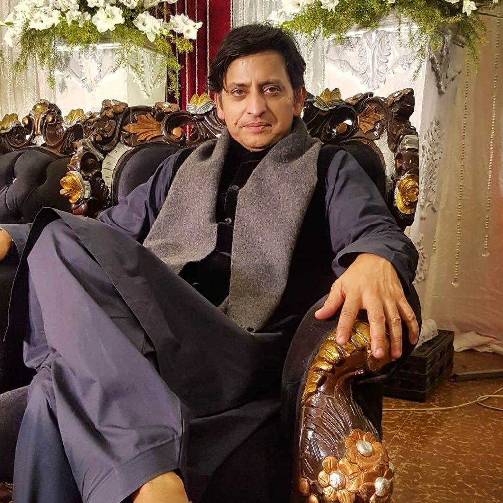 Raqs e Bismil Cast Saleem Meraj
