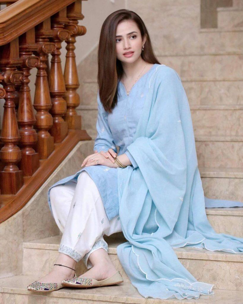 Drama Serial Dunk Cast Sana Javed