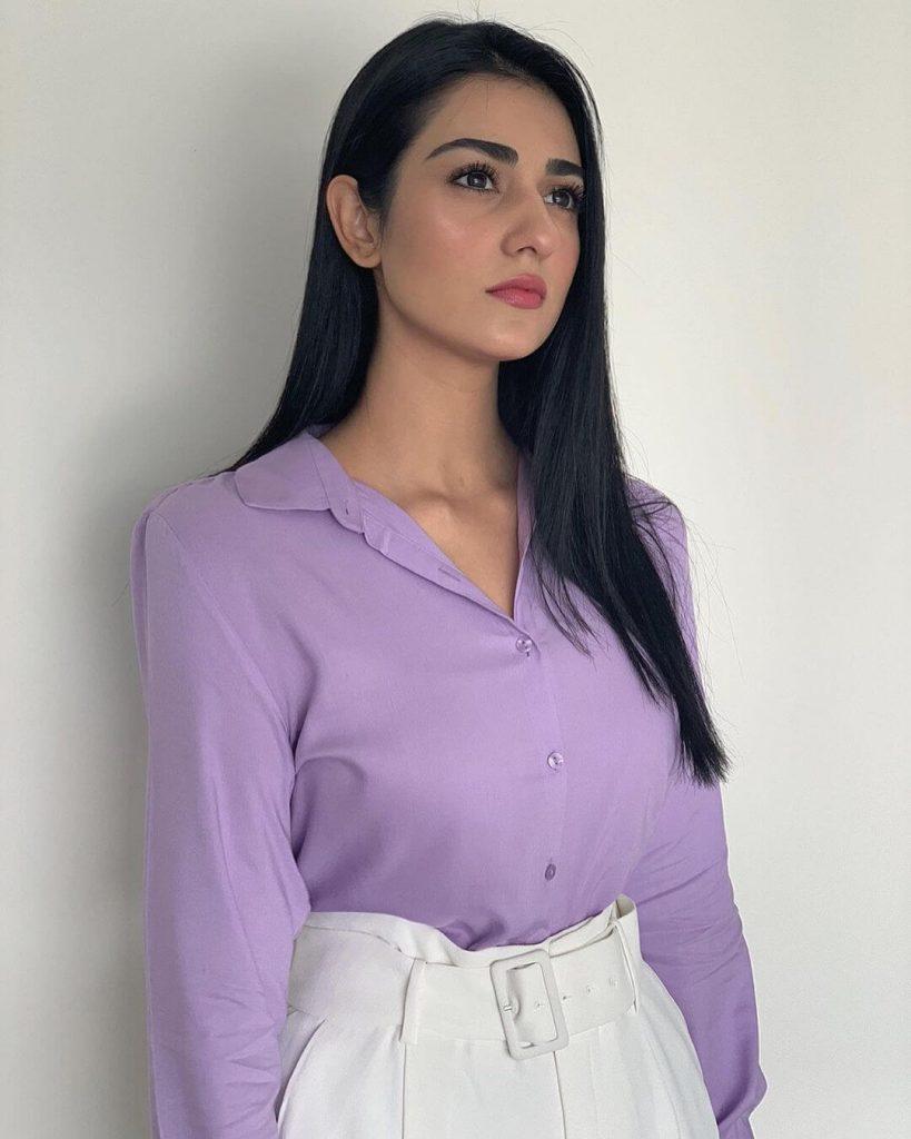 Raqs e Bismil Cast Sarah Khan