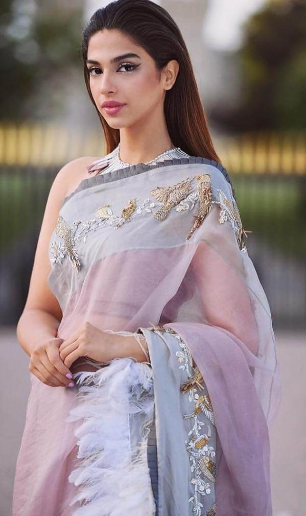 2021 Celebrities in Saree Look Classy 2 Sonya Hussain in Saree pics 1024x1024 1