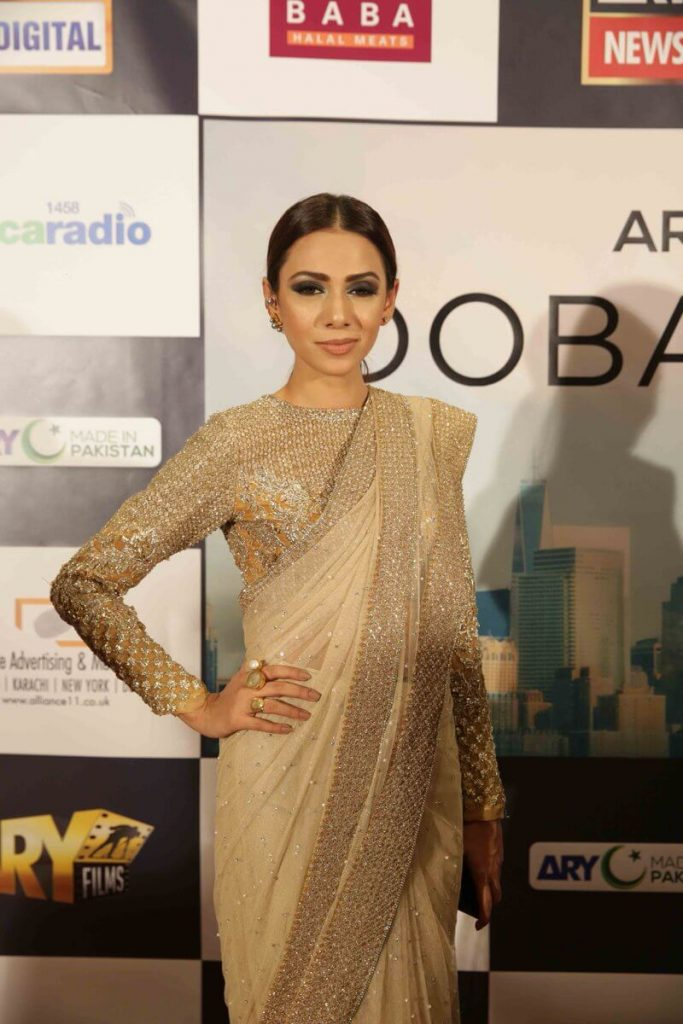 Tooba Siddiqui in Saree