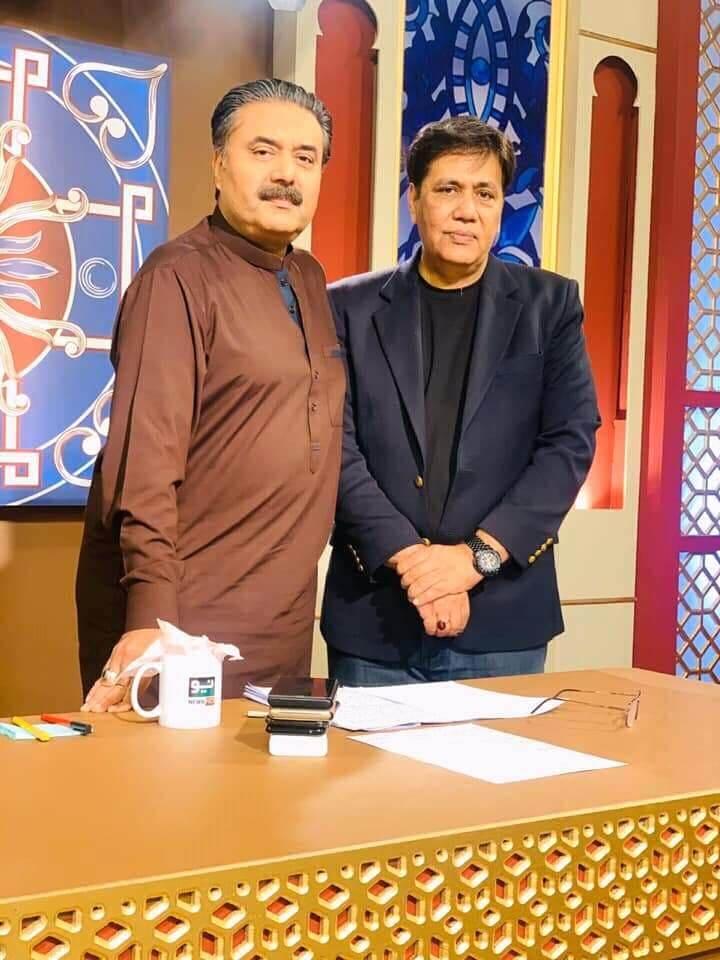 Pakistani talk show Khabaryar with aftab iqbal