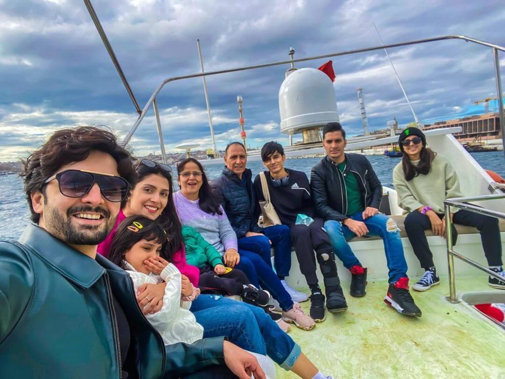 Danish Taimoor latest trip to turkey with family