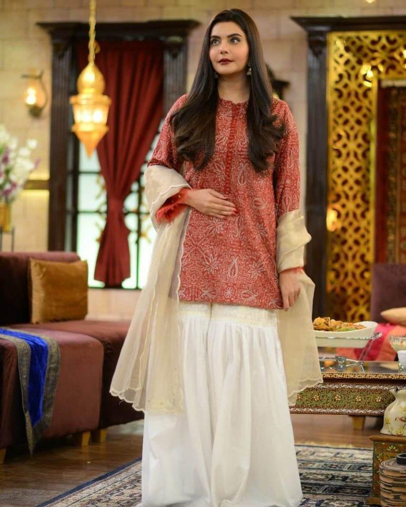 Nida Yasir Dress on Eid